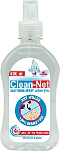 Clean-Net Sanitizing Spray 400 ml