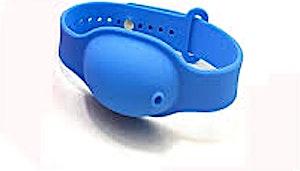 Bracelet-Acelet For Sanitizer Blue