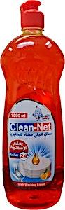 Clean-Net Dishwahing Liquid Orange 1000 ml
