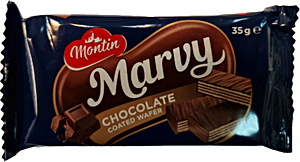 Marvy Chocolate Coated Wafer 35 g