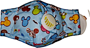 Kids Mask Washable With Filter For Girls