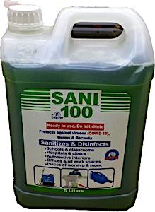 Spartan Sani 100 - 5 L