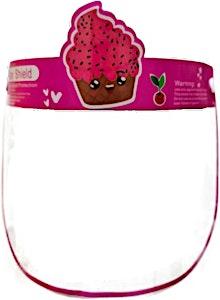 Face Shield Mask Cupcake 1's