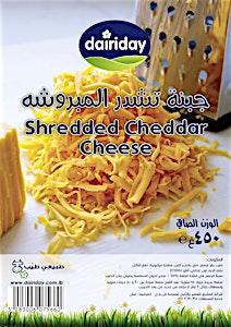 DairyDay Shredded Cheddar Cheese 450 g