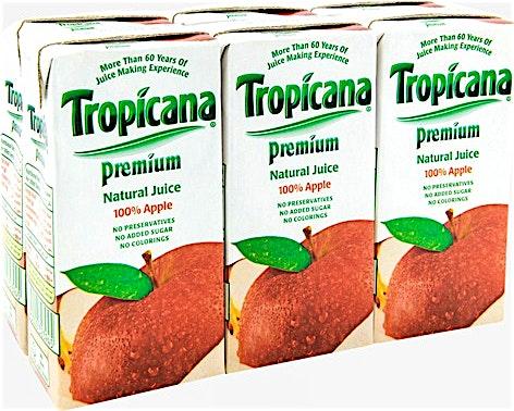 Tropicana Premium Apple 180 ml (5+1 Free)