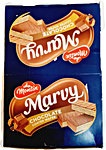 Marvy Chocolate Coated Wafer 420 g - Pack of 12