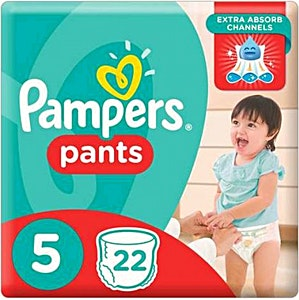 Pampers Pants 5 22's