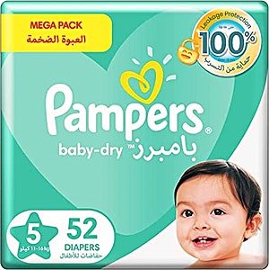 Pampers Junior 5 52's