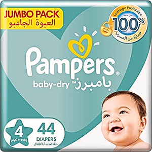Pampers Maxi 4 Large 44's