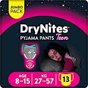 Huggies Dry Nites Pyjama Pants Teen 13's