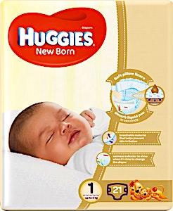 Huggies New Born 1 21's