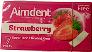 Aimdent Strawberry Gum 14.5 g