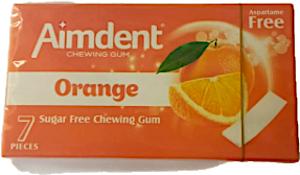 Aimdent Orange Gum 14.5 g