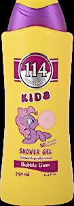 114 Kids Shower Gel Bubble Gum 750 ml