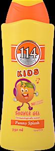 114 Kids Shower Gel Funny Splash 750 ml