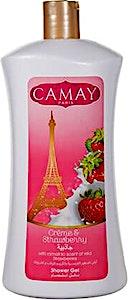 Camay Creme & Strawberry Shower Gel 1 L