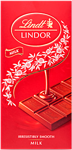 Lindt Lindor Milk Chocolate 100 g
