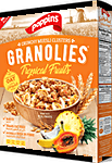Poppins Granolies Tropical Fruits 350 g