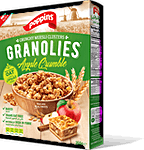 Poppins Granolies Apple Crumble 350 g