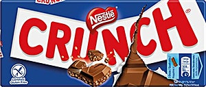 Nestle Crunch Chocolate 330 g - Pack of 10's
