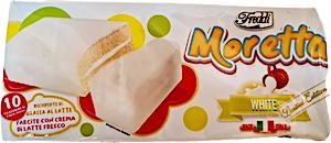 Freddi Moretta White Cakes - Pack of 10's