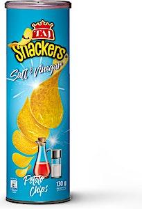 Taj Snackers Salt & Vinegar Potato Chips 130 g