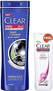 Clear Deep Cleanse For Men 360 ml + 180 ml Free