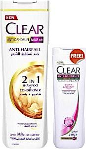 Clear 2 in 1 Anti-HairFall For Women 360 ml + 180 ml Free