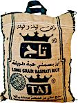 Taj Indian Basmati Rice Green 3.625 kg