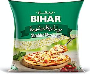 Bihar Shredded Mozzarella 450 g