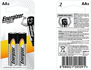 Energizer Battery AA 2's