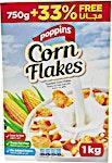 Poppins Corn Flakes 750 g + 33 % Free