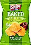 Snips Salt & Vinegar Baked Potato Chips 38 g