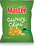 Master Curvy Chips Salt & Vinegar 34 g