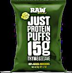 Raw Bites Thyme & Sesame Protein Puffs 50 g