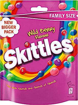 Skittles Wild Berry 196 g