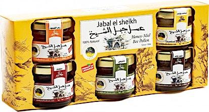 Jabal El Sheikh Honey Collection 30 g - Pack of 5