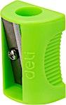 Deli Neon Pencil Sharpener Green 1's
