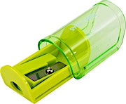 Deli Pencil Sharpener with Canister Assistant Green 1's