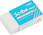 Deli White Eraser 1's
