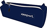 Exsport Blue Pencil Case One Compartment 1's