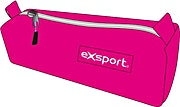 Exsport Pink Pencil Case One Compartment 1's