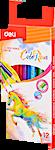 Deli Colored Pencil 12's