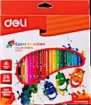 Deli Colored Pencil 24's