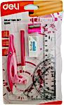 Deli Pink Drafting Set 1's