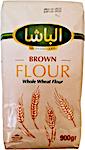 Al Basha Brown Whole Wheat Flour 900 g