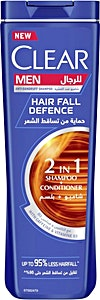 Clear Men 2-in-1 Hair Fall Defence 360 ml