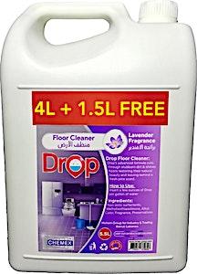 Chemex Drop Floor Cleaner Lavender Liquid 4 L + 1.5 L Free