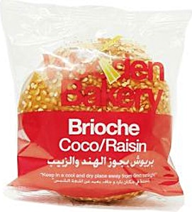 Wooden Bakery Brioche Coco & Raisin 80 g