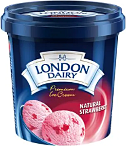 London Dairy Strawberry Cup 125 ml